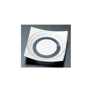 回転寿司皿 四方角皿 一筆|matakatsu