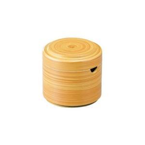 つつ型粉茶入れ 白木|matakatsu