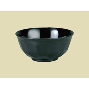 やすらぎ亀甲飯椀 黒乾漆内黒|matakatsu