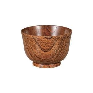 木製羽反小汁椀 摺り 漆|matakatsu