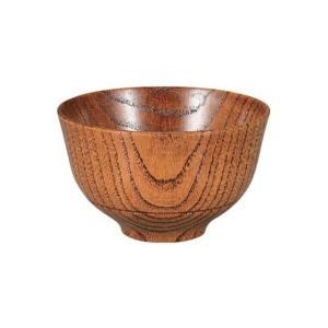 木製一筋汁椀 摺り 漆|matakatsu