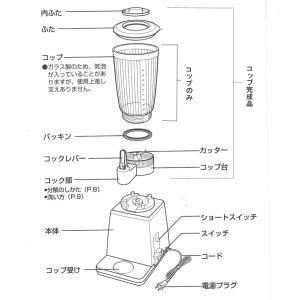 パナソニック 業務用ミキサーMX-152SP 用ガラスコップ完成品|matakatsu