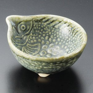 陶雅 魚織部おふけ珍味鉢|matakatsu