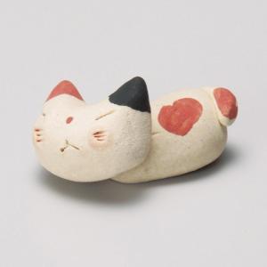 陶雅 手造り猫ミケ箸置|matakatsu