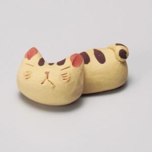 陶雅 手造り猫トラ箸置|matakatsu