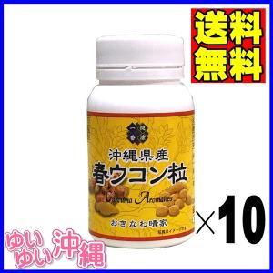沖縄県産 春ウコン粒 100g(約500粒)×10個|matayoshiyakusouen