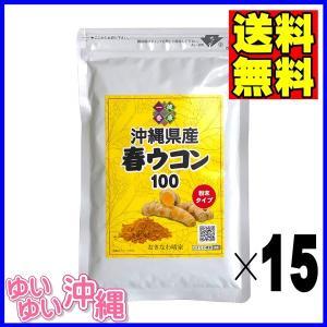 沖縄産 春ウコン 粉末 100g×15個|matayoshiyakusouen