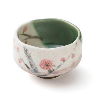 抹茶茶碗(梅) (茶道具セット 茶道 薄茶用 抹茶 ギフト 贈り物)|matcha