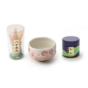 お抹茶セット (茶道具セット 茶道 薄茶用 抹茶 ギフト 贈り物)|matcha