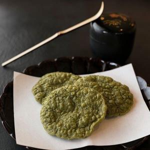 西尾の抹茶 海老煎餅(12枚入) (贈り物 ギフト 内祝い お菓子 お取り寄せ)|matcha