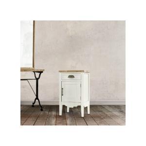 サイドテーブル おしゃれ 木製 カフェ 白 ホワイト アンティーク インテリア 通販 ソファー 家具...
