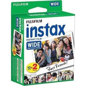 FUJIFILM インスタントカメラ ワイド用フィルム 20枚入 INSTAX WIDE WW 2 materialbeats
