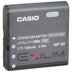 CASIO デジタルカメラ EXILIM用リチウムイオン充電池 NP-40 materialbeats