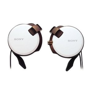 ソニー SONY ヘッドホン MDR-Q38LW : コード巻き取り式 薄型耳かけスタイル ホワイト MDR-Q38LW W materialbeats