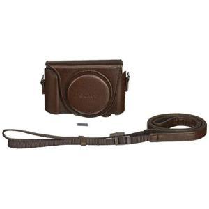 ソニー SONY デジタルカメラケース ジャケットケース ブラウン LCJ-HWA T|materialbeats