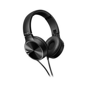 パイオニア Pioneer SE-MJ722T ヘッドホン 密閉型/オンイヤー/折りたたみ式 ブラック SE-MJ722T-K  (国内正規品)|materialbeats