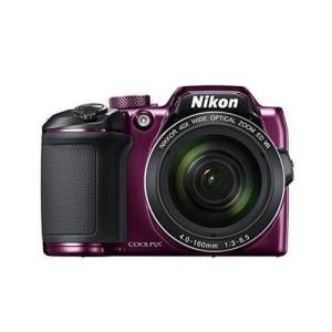 Nikon デジタルカメラ COOLPIX B500 光学40倍ズーム 1602万画素 単三電池 プラム B500PU materialbeats