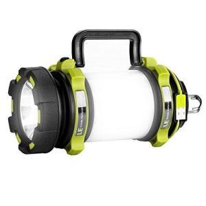 LE USB充電 LEDサーチライト 懐中電灯 作業灯 2600mAh電池内蔵 明るさ最大500ルーメン 調光機能 USBケーブル付き 防水 アウトドア キャンプ 登山 釣り クラ|materialbeats