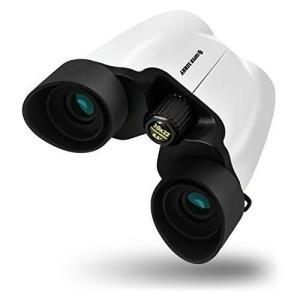 SuperSunny 双眼鏡 コンサート 10倍 10x22 Bak4 アイカップでブレない 軽量 materialbeats