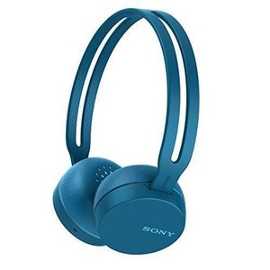 ソニー SONY ワイヤレスヘッドホン WH-CH400 : Bluetooth対応 最大20時間連続再生 マイク付き 2018年モデル ブルー WH-CH400 L|materialbeats