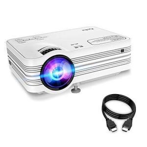 ●商品名:プロジェクター 小型 LED 1080PフルHD対応 2400ルーメン スピーカー内蔵 H...
