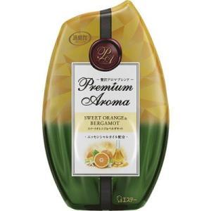 【期間限定セール!!】消臭力 Premium Aroma スイートオレンジ&ベルガモット (400mL)/ エステー|matinozakka