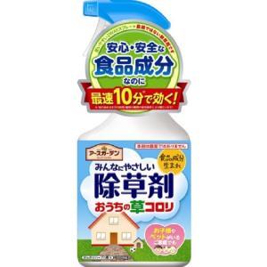 (送料無料)(まとめ買い・ケース販売)アースガーデン みんなにやさしい除草剤 おうちの草コロリ (1L)(12個セット)/ アース製薬|matinozakka