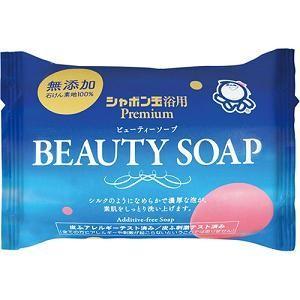 シャボン玉 化粧石鹸 ビューティーソープ 100g シャボン玉販売の商品画像|ナビ