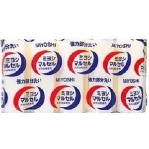 (送料無料)(まとめ買い・ケース販売)ミヨシ石鹸 マルセルせっけん (140g×5個入)(10個セット)/ ミヨシ石けん|matinozakka