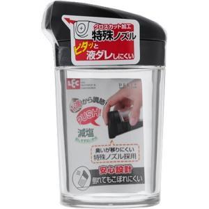 デリ DL プッシュ式しょうゆ差し S ブラック 1個入 レックの商品画像|ナビ