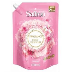 (送料無料)(まとめ買い・ケース販売)LG 香りサフロン フローラルの香り 大容量 詰替 1100mL(10個セット)/ トイレタリージャパン|matinozakka