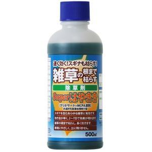 除草剤 Superはやきき 500ml (グリホサート+MCPA液剤) / ハート|matinozakka