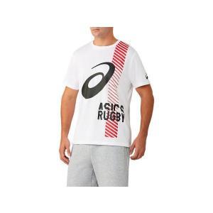 アシックス ラグビーSSトツプ 2113A033-101 ラグビー ウェア|matsubarasports