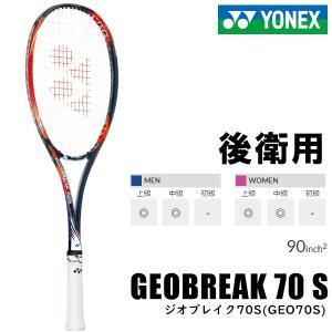 ヨネックス YONEX  ジオブレイク70S GEO70S-816 ソフトテニスラケット 軟式ラケット 未張り上げラケット matsubarasports