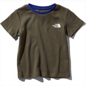 ノースフェイス ショートスリーブスムースコットンティー(キッズ/ベビー) NTJ31939‐NT 半袖Tシャツ matsubarasports