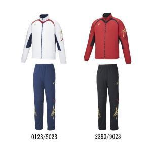 特価 ジャムジー ブレードジャケット・パンツ上下セット XAT139-XAT239 アシックス|matsubarasports