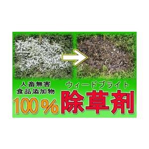 ★最大28倍+クーポン★ ウィードブライト 人畜無害!100%食品添加物の除草剤 matsucame