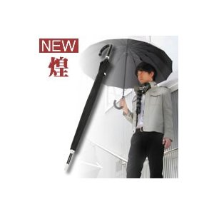 ★最大29倍+クーポン★ 煌 kirameki NEW 16本骨傘 高強度グラスファイバー仕様 傘 かさ プレゼント用BOX付  男の品格極上 16本骨傘|matsucame