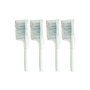 専用替えブラシ4個セット 電動ハブラシ 電動歯ブラシ 替えブラシ4個セット|matsucame
