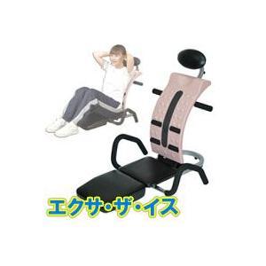 エクサ・ザ・イス LW-168 スプリングの力でラクラク腹筋運動!  シットアップエクササイズ シットアップマシン エクサザ|matsucame