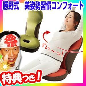 勝野式 美姿勢習慣コンフォート ストレッチレシピ付 美姿勢座椅子 骨盤座椅子 リクライニングチェア 姿勢サポート ストレッチ座イス ストレッチ座椅子|matsucame