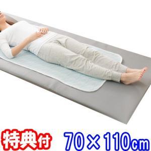 サラッと快乾エアーパッド ミニ 70×110cm サラサラ快適敷きパッド 通気性抜群 ハニカム構造 ひんやり シーツ ベッドパッド サラッと快乾エアーパット