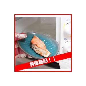 ふしぎなお皿 油不要!ラップ不要! レンジで焼いてそのまま食卓!|matsucame