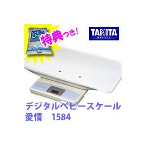 タニタ デジタルベビースケール 愛情 1584 あいじょう TANITA 赤ちゃん用体重計 ベビースケール 愛情1584 赤ちゃん|matsucame