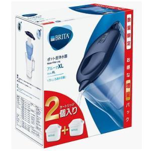 ブリタ アルーナ XL マクストラプラスカートリッジ1個付き(日本正規品) ブルー 2.0L|matsuda88