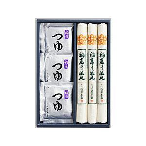 佐藤養助 稲庭饂飩 紙化粧箱入れ(うどん:80g×3束、つゆ:80g×3)|matsuda88