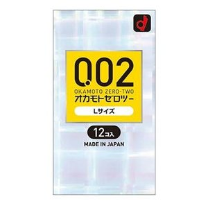 オカモトコンドームズ 0.02EX(エクセレント) Lサイズ (12コ入) ネコポス便対応品|matsuda88