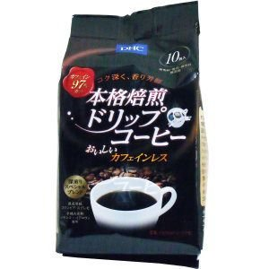 厳選したコーヒー豆からカフェインだけを97%カットし、こだわりの焙煎とブレンドで本格的なおいしさを追...