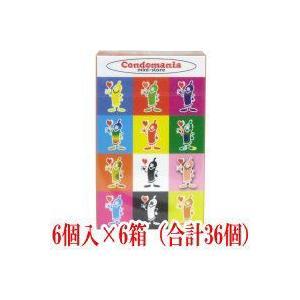 コンドマニア・ミニストア コンドーム 6個入×6箱(合計36個)|matsuda88
