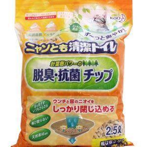 ニャンとも清潔トイレ 脱臭・抗菌チップ 大きめの粒 2.5L matsuda88